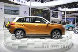 2018 suzuki vitara. unique 2018 2016 suzuki vitara side profile at auto china intended 2018 suzuki vitara