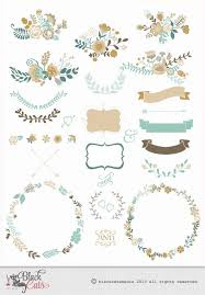 the 25 best flower frame ideas on pinterest bridal shower Crystal Wedding Invitation Frame flower frames and lace digital clipart ribbons and frames for wedding invitation scrapbooking turquoise cream Rhinestone Wedding Invitations