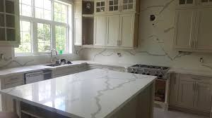 famous white quartz countertops