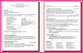 13 Example Curriculum Vitae For Students