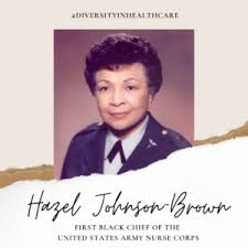 Hazel Johnson-Brown – #DiversityInHealthcare | Health Sciences Library Blog