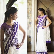 Full Length Blouse Designs Love This Saree With A Twist Full Length Blouse For A Saree