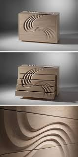 Martin Gallagher Designs A Chest Of Drawers With Hand-Sculpted ...