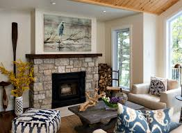 wall decor over fireplace stirring artwork above attractive decorating ideas cool interior design 46