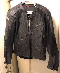 teknic perforated leather motorcycle jacket
