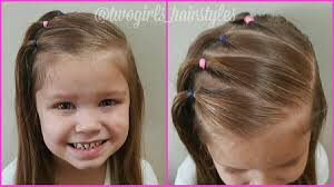 Another Cute Little Girl Hairstyle Vlasy Frisyrer