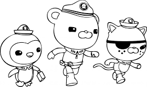 Small Picture Octonauts coloring pages peso barnacles kwazii ColoringStar