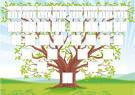 Дерево семьи шаблон своими руками