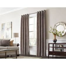 thermal curtain lining eyelet menzilperde net liners charming grey living room with long espresso sideboard table