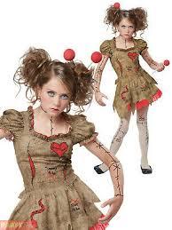 girls teen deluxe voodoo doll costume