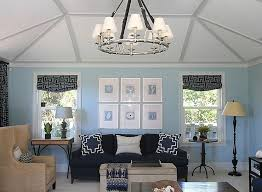 Blue And Beige Living Room  Contemporary  Living Room  Andrew Silver And Blue Living Room