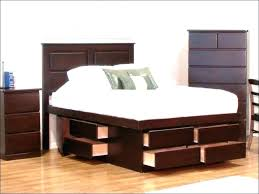 bed with nightstands attached.  Bed Bed With Built In Nightstands Headboard Nightstand Attached Full Size Of  Wood Platform Headboar Throughout