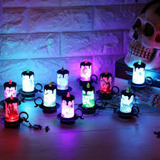haunted house lighting. Battery Powered Halloween Decoration LED Candle Flameless Tea Night Light  For Haunted House Party Haunted House Lighting