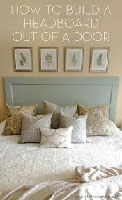Ber Hedbord Build Your Own Headboard With Storage Diy Gun Make From Old  Doors. Build Your Own Headboard Plans Diy With Shelves. Headboard Plans With  Shelves ...