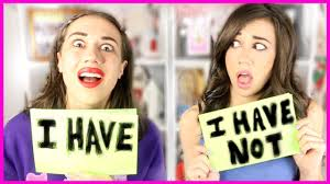 NEVER HAVE I EVER! Miranda & Colleen - YouTube