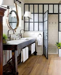 Comfy farmhouse bathroom decor ideas with rustic style Contemporary Unlike Many Interior Tendencies Something Concerning The Rustic Aesthetic Ever Falls Out Of Style The Comfy Structures In Addition To Diverse Combination Full Home Ideas 55 Fabulous Farmhouse Rustic Bathroom Design Ideas