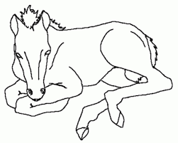 Small Picture Get This Free Preschool Horses Coloring Pages to Print OLoEv
