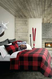 red and black buffalo plaid baby