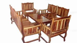 patio table and 6 chairs: outdoormodern teak patio furniture with  seaters wood patio furniture with nice antique design