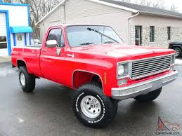 Off Custom 4X4 Chevy Cheyenne Red Truck Best of everything