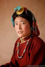 Neil Wade Photography - tibet-portrait-woman-jewelry