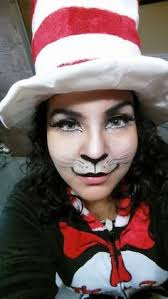 cat in the hat makeup and costume s m facebook
