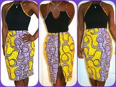 African Skirts Patterns Enchanting DIY African Print Skirt Thriftanista In The City Pinterest