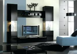 Black Display Units For Living Room
