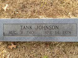 "Herbert Byron ""Little Tank"" Johnson Jr. (1910-1928) - Find A Grave Memorial"