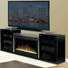 full image for black electric fireplace with storage shelves macon bookcases a console glass top shelf