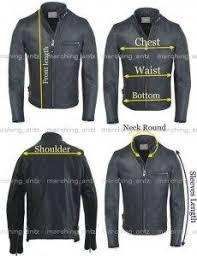 Leather Jacket Size Chart Size Chart Marchingantz Online Leather Shop Buy Custom