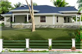 style single story bed room villa nadumuttam kerala home house plans single story 5 bedrooms house plans single story 4 bedroom