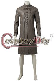 typesgame of thrones season 7 jon snow costume outfit include inner robe vest wrister chest piece scarf gloves belt meterial pu leather