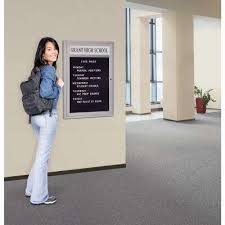 grays office supplies. marquee directory memo board in aluminum grays office supplies r