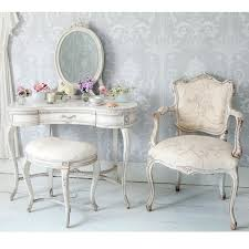 french bedroom chairs uk. delphine distressed shabby chic dressing table french bedroom chairs uk a