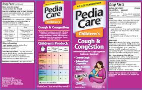 pediacare childrens cough and