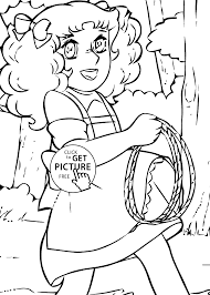 Small Picture Candy lasso anime coloring pages for kids printable free