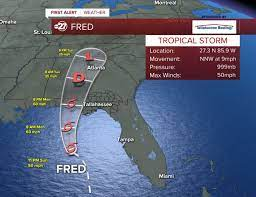 Tropical Storm Warning covers west Big ...