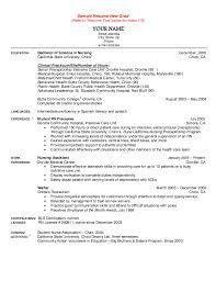 Nursing Graduate Resume New Graduate Nursing Resume Major Magdalene Project Org