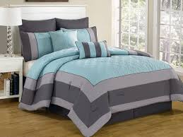 Spain Hotel 8pc Quilted Comforter Set 2 Sizes Home Amp Kitchen ... & Spain Hotel 8pc Quilted Comforter Set 2 Sizes Home Amp Kitchen Regarding  Teal And Gray Bedding Adamdwight.com