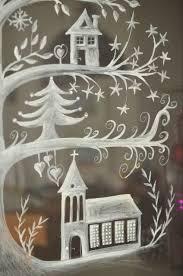 überall Nirgendwo Fensterbilder Weihnachten Deko