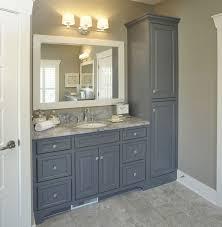 bathroom vanity design ideas. Great Gray Master Bath Vanity Design Ideas About Dark Bathroom Remodel A