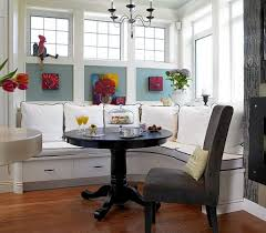 breakfast nook furniture ideas. dinning roomstraditional breakfast nook with white set and round black table also chair furniture ideas e