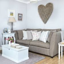 living room ideas grey small interior: this small living room has been given an inviting and laid back country feel palest grey walls make an on trend alternative to mundane magnolia to keep the