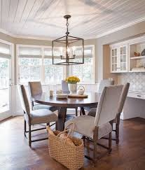 dining area lighting. Rustic Dining Room Lighting Brown Wooden Table Elegant Black Drum  Shade Pendant Lamp Natural Varnished Tale Pottery Barn Kitchen Dining Area Lighting