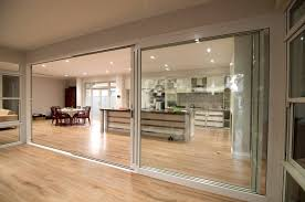 commercial glass sliding doors exterior