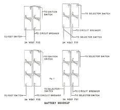 com cushman golfster models 731 732 battery wiring