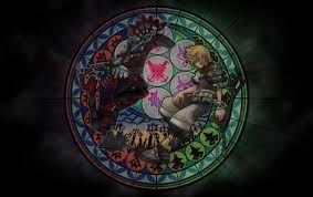 hd kingdom hearts stained glass wallpapers