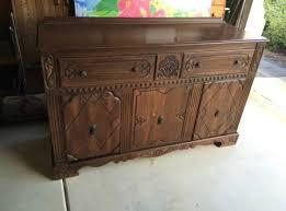 old furniture makeover. Antique Furniture, Vintage Painting Old Blue Painted A Furniture Makeover