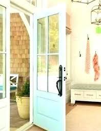 shaker style exterior french doors front door fiberglass 6 lite entry 3 4 sty